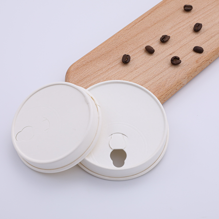 90mm biodegradable paper coffee cup lid