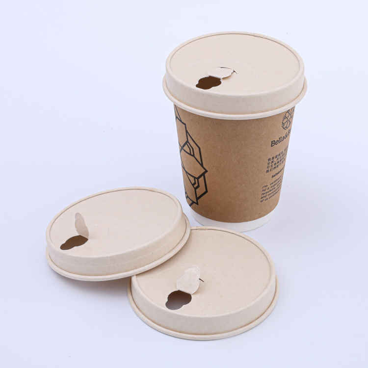 12oz disposable hollow wall paper cup