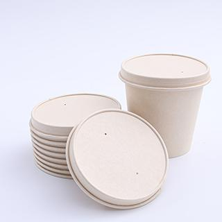 115mm biodegradable dispsoable paper lids