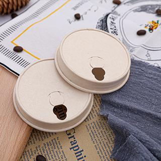 80mm 90mm bagasse coffee cup lids manufacturer