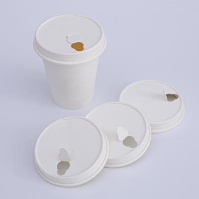 80mm 90mm biodegradable paper lids for cups