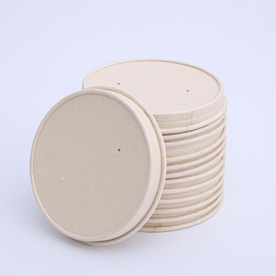 Large supplier 115mm compostable dispsoable paper lids