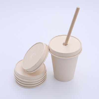 Nice match paper soup cup with paper lids