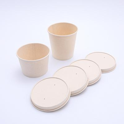 115mm ecofriendly paper lid to suit paper bowl