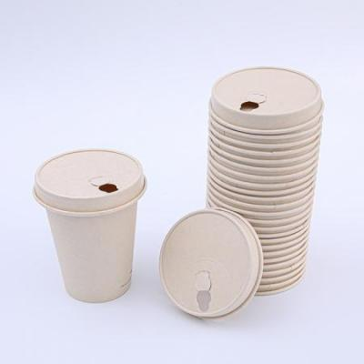 Biodegradable disposable paper lids for tea cup