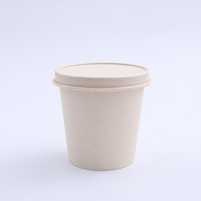 Customized color paper cup lid for ice cream cup