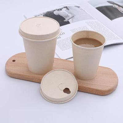 Custom food grade paper coffee cups with lids