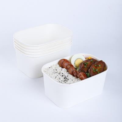 Custom disposable paper bowls with lids