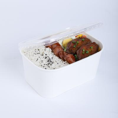 Wholesale to go paper bowls with lids