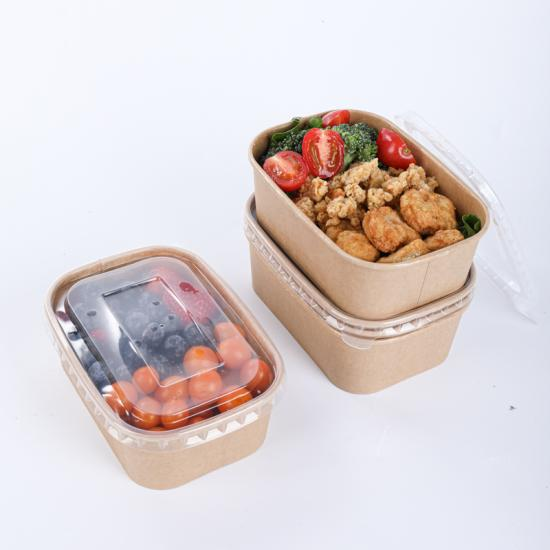 Wholesale paper bowls with lids