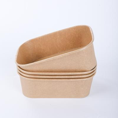 Universal paper hot soup bowl