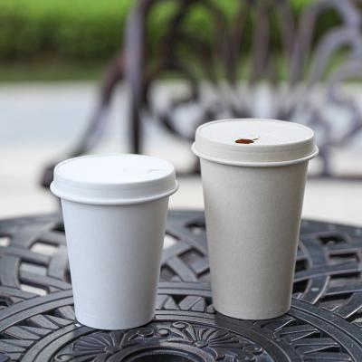 Universal disposable paper soup cups with lids