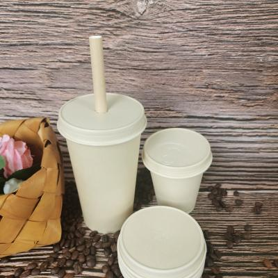 Custom design cold paper cups with lids wholesaler