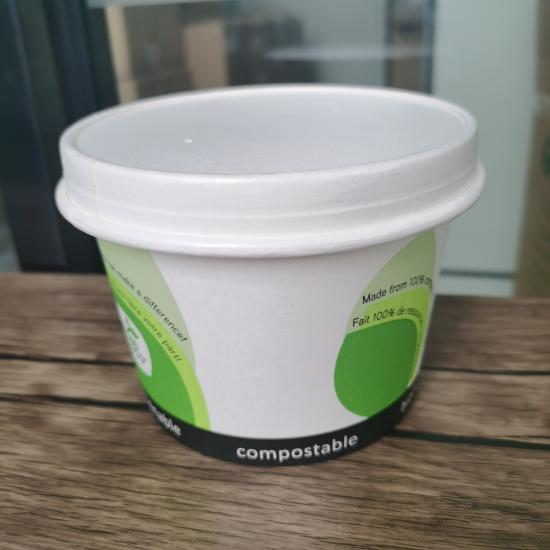 Ecofriendly disposable paper bowls
